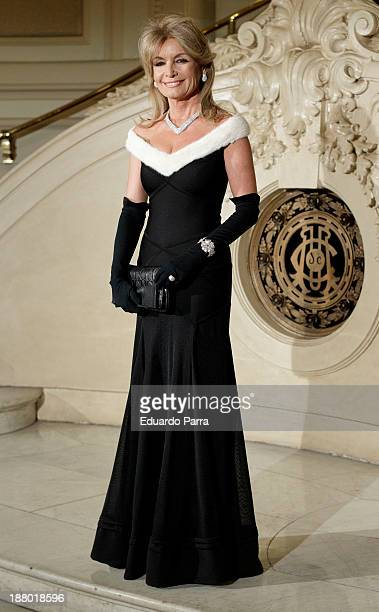 Cristina Llanes attends the Ralph Lauren Dinner Charity Gala at the Casino de Madrid on November 14 2013 in Madrid Spain
