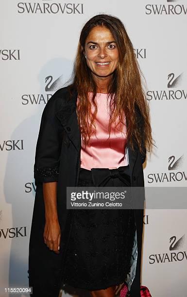 Cristina Lucchini attends the Swarovski Fashionation at Palazzo Reale on June 7 2011 in Milan Italy