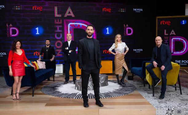 ESP: 'La Noche D' RTVE Photocall In Madrid