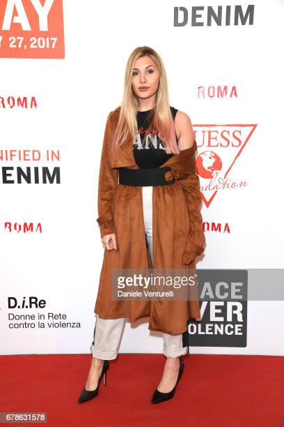 Cristina Musacchio attends the Guess Foundation Denim Day 2017 at Palazzo Barberini on May 4 2017 in Rome Italy