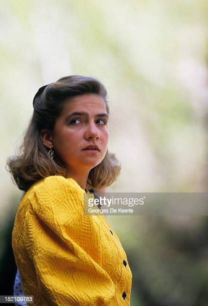 Cristina of Spain in Spain on April 1987