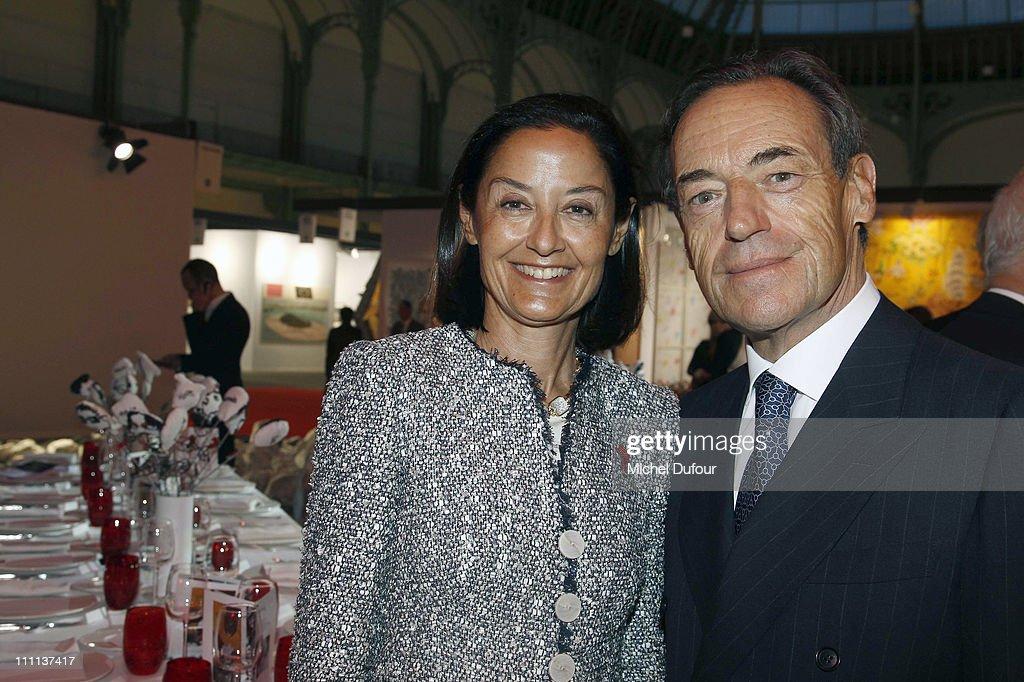 'Dessine L'Espoir' Dinner During Art Paris Festival
