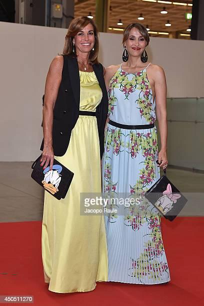 Cristina Parodi and Benedetta Parodi attend the Convivio 2014 on June 12 2014 in Milan Italy
