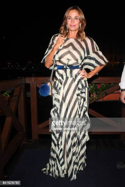 Cristina Parodi attends Diva e Donna Party at Centurion Palace during the 74th Venice Film Festival on September 1 2017 in Venice Italy