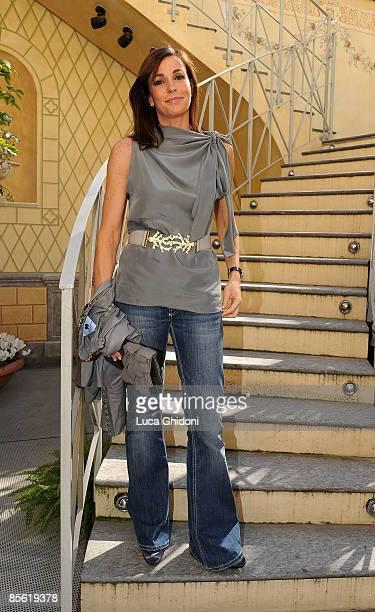 Cristina Parodi attends the 2008 E' Giornalismo award on March 26 2009 in Milan Italy Attilio Bolzoni of 'la Repubblica' newspaper won this years...