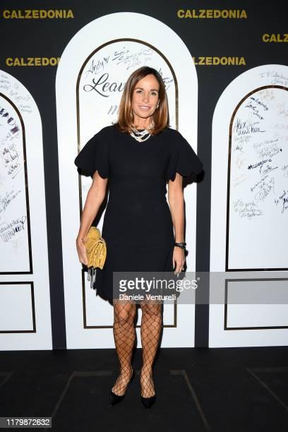 Cristina Parodi attends the Calzedonia Leg Show 2019 on October 08 2019 in Verona Italy