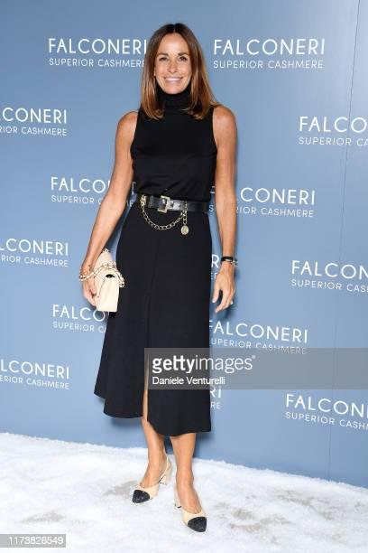 Cristina Parodi attends the Falconeri fashion show on September 11 2019 in Verona Italy