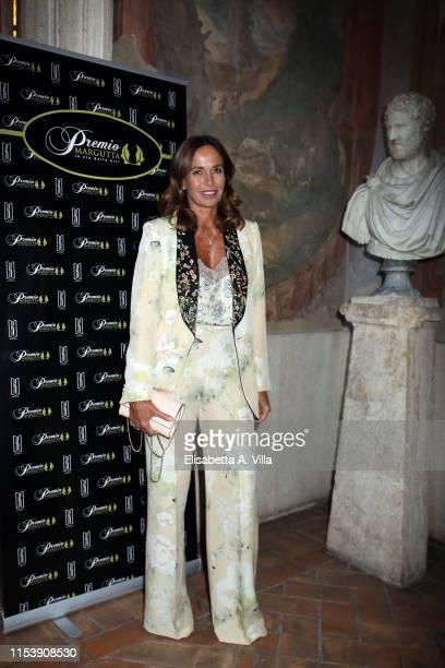 Cristina Parodi attends the Premio Margutta La Via Delle Arti at Palazzo Altemps on June 05 2019 in Rome Italy