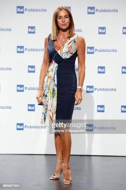 Cristina Parodi attends the Rai Show Schedule presentation on June 27 2018 in Milan Italy