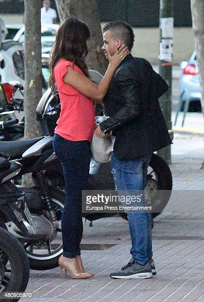 Cristina Pedroche and David Munoz are seen on June 16 2015 in Madrid Spain