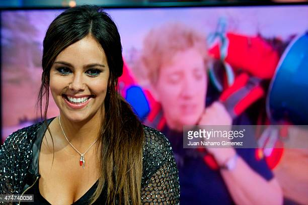 Cristina Pedroche attends 'El Hormiguero' Tv show at Vertice Studio on May 25 2015 in Madrid Spain