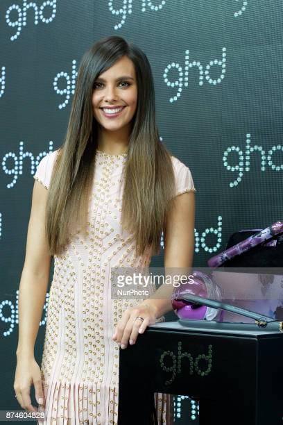 Cristina Pedroche attends GHD New Looks presentation at Nueva Carolina on November 15 2017 in Madrid Spain
