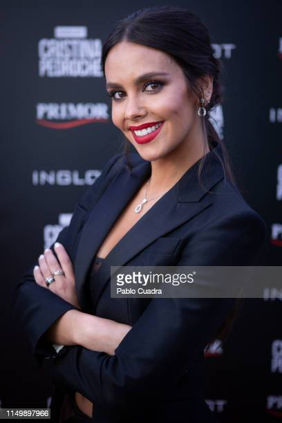 Cristina Pedroche attends INGLOT Photocall on May 17 2019 in Madrid Spain