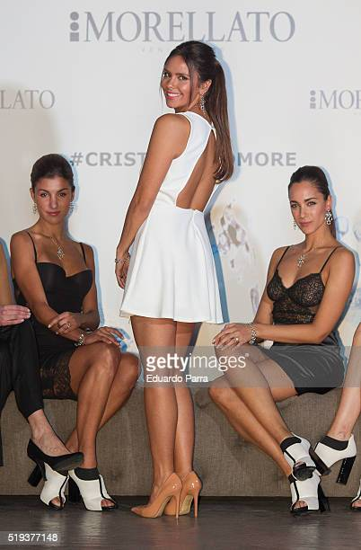 Cristina Pedroche attends Morellato jewelry presentation at B Studio on April 6 2016 in Madrid Spain