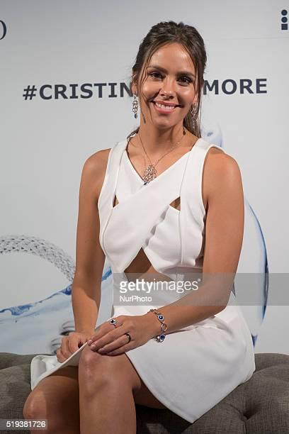 Cristina Pedroche attends Morellato jewelry presentation at B Studio on April 6 2016 in Madrid Spain