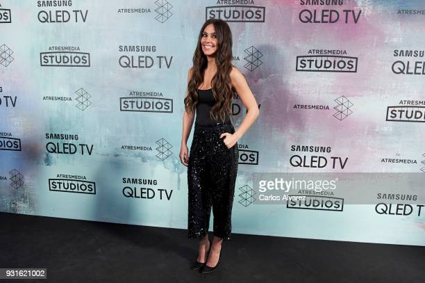 Cristina Pedroche attends the Atresmedia Studios photocall at the Barcelo Theater on March 13 2018 in Madrid Spain