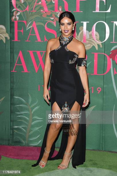 Cristina Pedroche attends the Green Carpet Fashion Awards during the Milan Fashion Week Spring/Summer 2020 on September 22 2019 in Milan Italy