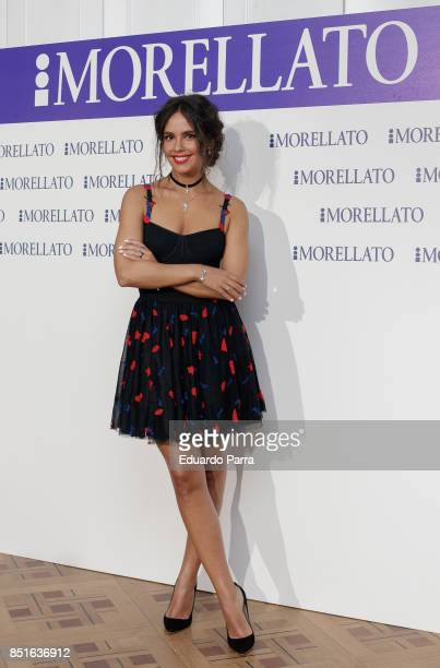 Cristina Pedroche attends the Morellato party photocall at Alma Club on September 22 2017 in Madrid Spain