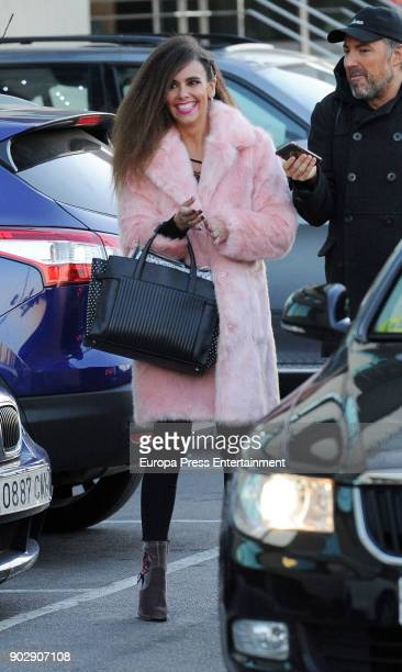 Cristina Pedroche is seen on December 12 2017 in Madrid Spain