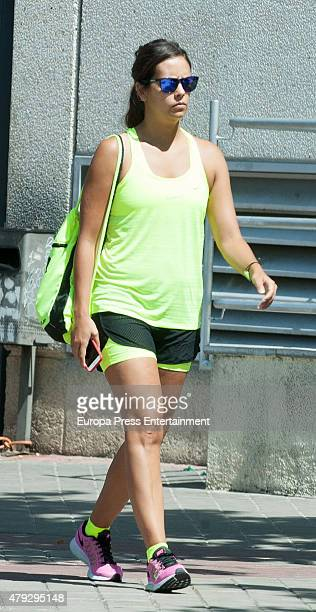 Cristina Pedroche is seen on July 2 2015 in Madrid Spain