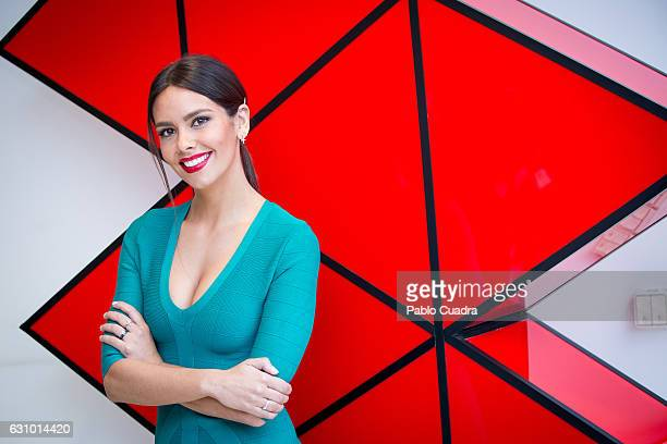 Cristina Pedroche presents 'Tu si Que Si' talent show at Atresmedia Studios on January 5 2017 in Madrid Spain
