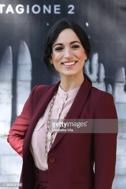 Cristina Pelliccia attends a photocall for Netflix Suburra The Series season 2 at Casa del Cinema on February 20 2019 in Rome Italy