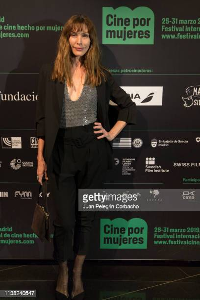 Cristina Piaget actress and top model attends the inauguration of 'Cine Por Mujeres' Festival at Palacio de la Prensa on March 25 2019 in Madrid Spain