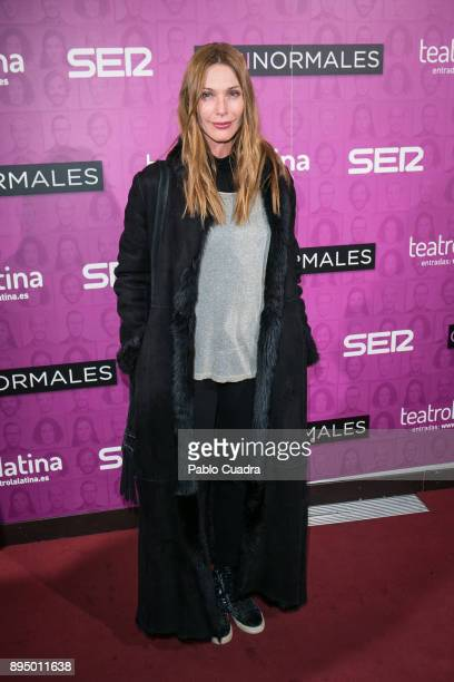 Cristina Piaget attends the 'Casi Normales' premiere at 'La Latina' Theatre on December 18 2017 in Madrid Spain