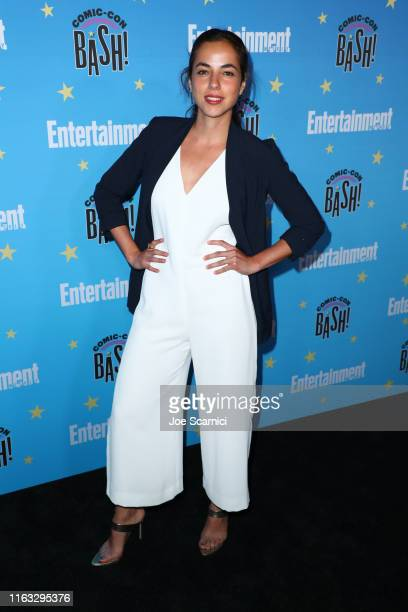 Cristina Rodlo arrives at the Entertainment Weekly ComicCon Celebration at Float at Hard Rock Hotel San Diego on July 20 2019 in San Diego California
