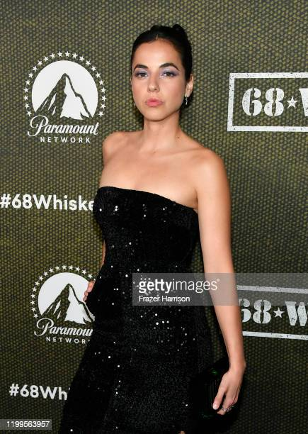 Cristina Rodlo attends Paramount Network's 68 Whiskey Premiere Party at Sunset Tower on January 14 2020 in Los Angeles California