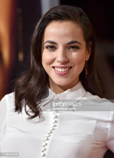 Cristina Rodlo attends the premiere of Columbia Pictures' 'Miss Bala' at Regal LA Live Stadium 14 on January 30 2019 in Los Angeles California