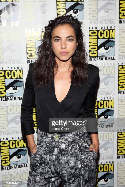 Cristina Rodlo attends The Terror Infamy Press Conference at Comic Con 2019 on July 19 2019 in San Diego California