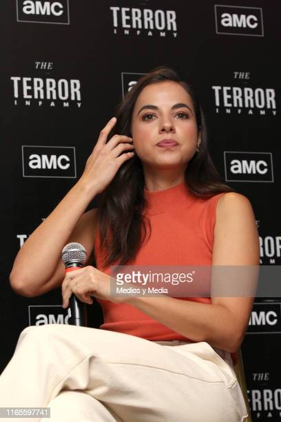 Cristina Rodlo during the presentation of the AMC series 'The Terror Infamy' at Hotel W on August 1 2019 in Mexico City Mexico