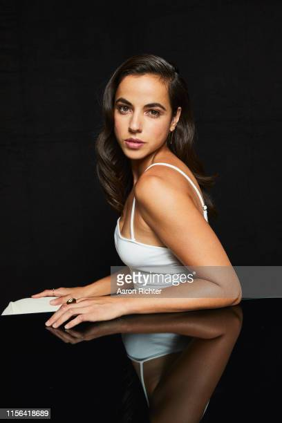 Cristina Rodlo of The Terror Infamy poses for a portrait in the Pizza Hut Lounge at 2019 ComicCon International San Diego on July 18 2019 in San...