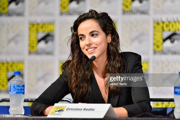 Cristina Rodlo speaks at The Terror Infamy Panel Comic Con 2019 on July 19 2019 in San Diego California