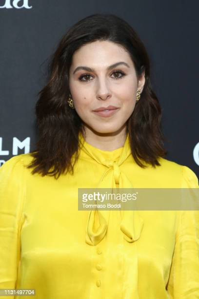 Cristina Rosato attend the Canada's Oscar Salute Celebration Hosted By Consul General Of Canada Mr Zaib Shaikh And Telefilm Canada at Official...