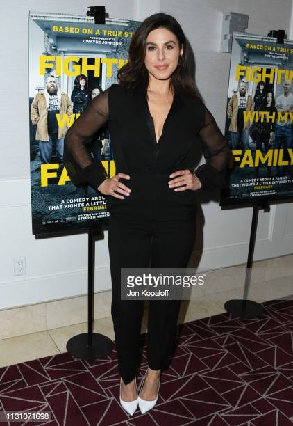 Cristina Rosato attends Fighting With My Family Los Angeles Tastemaker Screening at The London Hotel on February 20 2019 in West Hollywood California