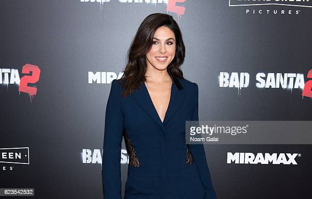 Cristina Rosato attends the Bad Santa 2 New York premiere at AMC Loews Lincoln Square 13 theater on November 15 2016 in New York City