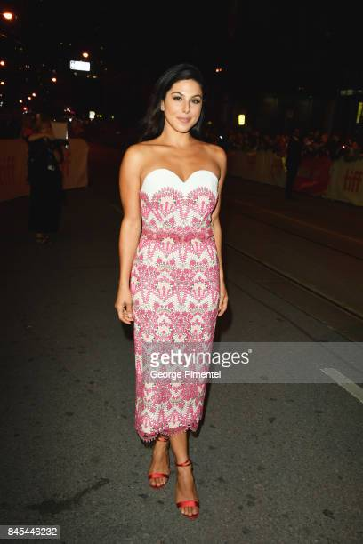 Cristina Rosato attends the mother premiere during the 2017 Toronto International Film Festival at Princess of Wales Theatre on September 10 2017 in...