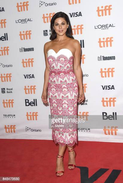 Cristina Rosato attends the 'mother' premiere during the 2017 Toronto International Film Festival at Princess of Wales Theatre on September 10 2017...