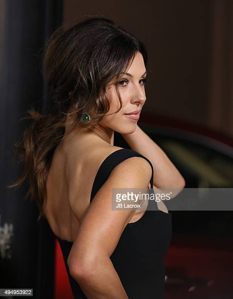 Cristina Rosato attends the premiere of Crackle's 'The Art Of More' at Sony Pictures Studios on October 29 2015 in Culver City California