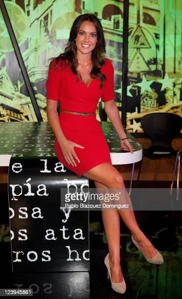 Cristina Saavedra poses for photographers during 'La Sexta' Tv Channel New season Presentation on September 6 2011 in Madrid Spain