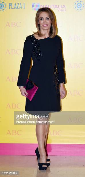 Cristina Sanchez attends the 'Premio Taurino ABC' awards at the ABC Library on February 20 2018 in Madrid Spain