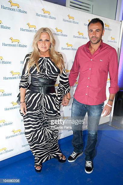Cristina Tarrega and Mami Quevedo attend Harmont Blaine shop opening photocall at Harmont Blaine shop on September 30 2010 in Madrid Spain