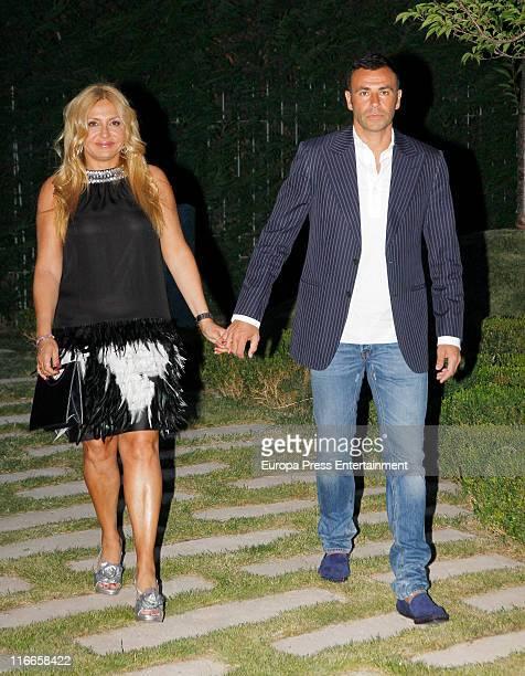 Cristina Tarrega and Mami Quevedo attend 'Isabel Gemio Foundation' dinner on June 16 2011 in Madrid Spain