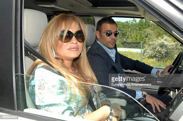 Cristina Tarrega and Mami Quevedo attend the wedding of the Spanish singer Lolita and the Cuban actor Pablo Duran on May 14 2010 in Madrid Spain