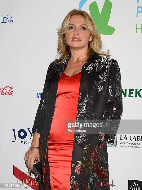 Cristina Tarrega attends architect Joaquin Torres charity cocktail at ACero In on December 10 2012 in Madrid Spain