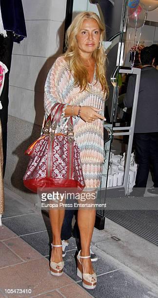 Cristina Tarrega attends EPK Shop Opening in Madridon October 14 2010 in Madrid Spain