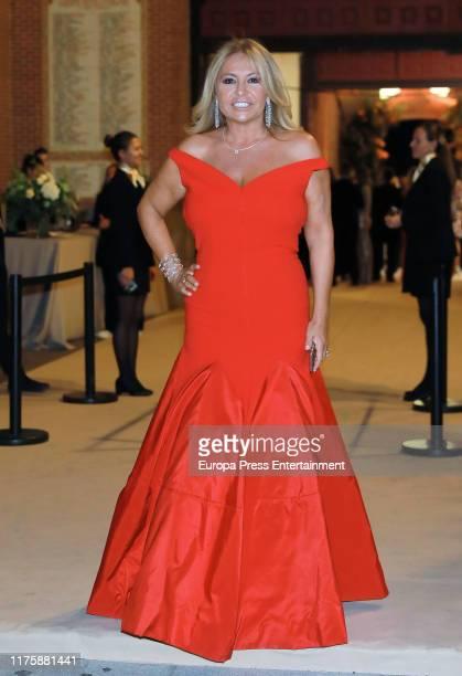 Cristina Tarrega attends 'Mujer Sesderma' awards at Las Ventas on September 19 2019 in Madrid Spain
