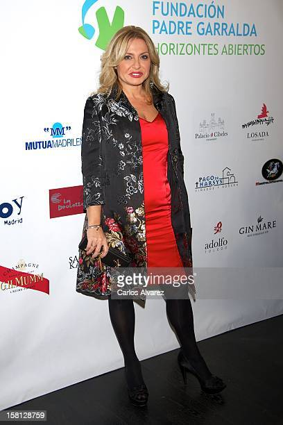 Cristina Tarrega attends the Padre Garralda Foundation charity cocktail at the Acero studio on December 10 2012 in Madrid Spain